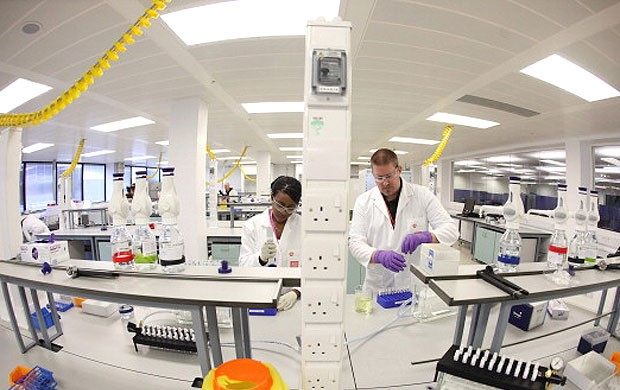Laboratorio, Londres, Doping (Foto: Agência Getty Images)