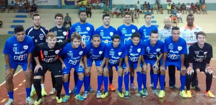 Bauru Futsal, jogo-treino, Copa Paulista (Foto: Rafael Peloso / A.A. FIB)