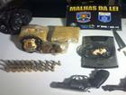 Suspeitos de tráfico e roubos são presos (Divulgação/ Polícias Civil e Militar)