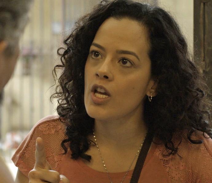 Domingas pressiona Juca (Foto: TV Globo)