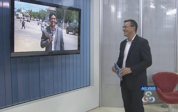 O apresentador do Acre TV, Bruno Cássio, fala sobre os critérios de inscrição (Foto: Reprodução TV Acre)