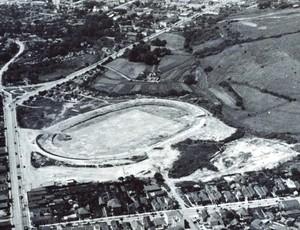 terraplanagem olímpico grêmio 1951 (Foto: Arquivo do Memorial Hermínio Bittencourt)