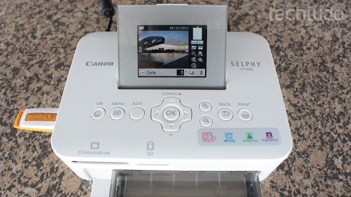 Canon Selphy CP1000 (Foto: Aline Batista/TechTudo)