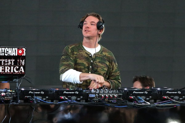 O ex-namorado da cantora Katy Perry, DJ Diplo (Foto: Getty Images)