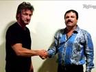 México quer ouvir ator Sean Penn sobre reunião com 'El Chapo', diz TV