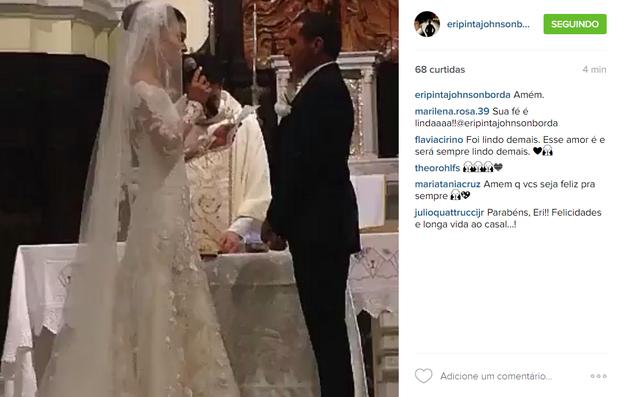 Eri Johnson e Alice Souto em post na web (Foto: Reprodução/Instagram)
