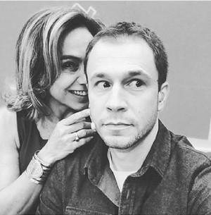 Cissa Guimarães e Tiago Leifert (Foto: Arquivo Pessoal)