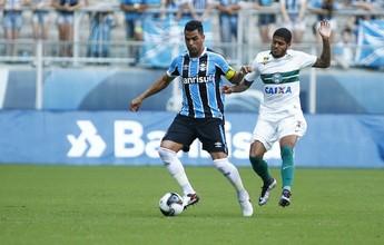 """Grupo do Coritiba prega respeito, mas aposta em jogo de """"igual para igual"""""""