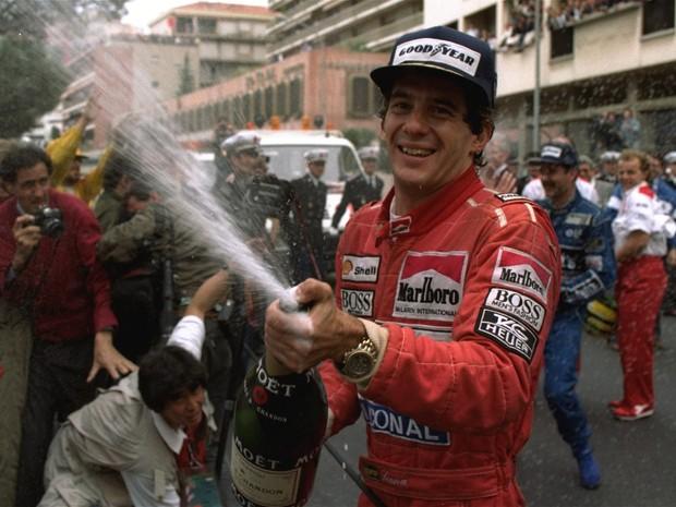 Ayrton Senna (Foto: AP)