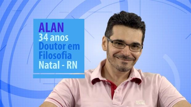 Alan (Foto: Globo / Divulgação)