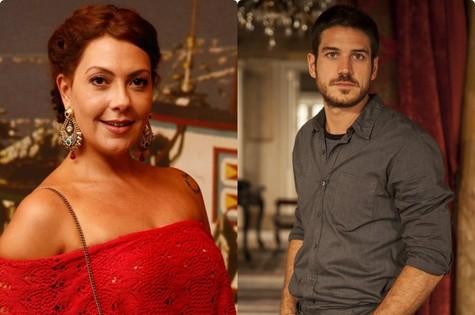 Fabíula Nascimento e Marco Pigossi (Foto: TV Globo)