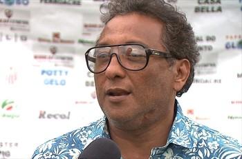 Carlinhos Farias, gestor de futebol do Rio Branco (Foto: Reprodução/TV Acre)