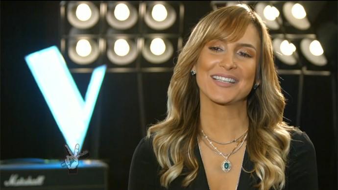 Claudia Leitte aposta em diferentes estratégias para conquistar voze para seu time (Foto: Gshow)