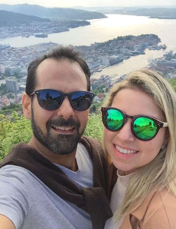 Onildo e Ana Cristina Rocha: ela vendeu um apartamento para investir na lanchonete do marido (Foto: arquivo pessoal)