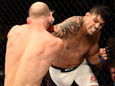 Viscardi Andrade Richard Walsh UFC Brisbane MMA (Foto: Getty Images)