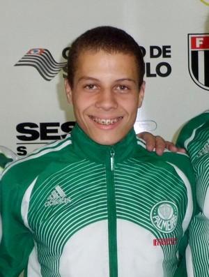 Tacio Santos, que fará parte da base da Seleção Brasileira de judô em 2013 (Foto: Arquivo Pessoal)