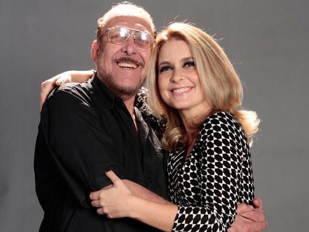 Mieli e Claudia Abreu (Foto: Felipe Monteiro / TV Globo)