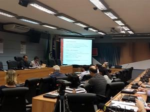 Comissão do Vestibular da Unicamp explica mudanças no exame de 2016 (Foto: Fernando Pacífico/G1)