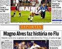 Hoje no banco, Magnata já fez cinco gols em um só jogo sobre Santa Cruz