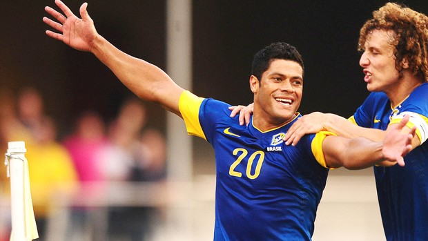 Hulk, Brasil x Africa do Sul (Foto: Marcos Ribolli / Globoesporte.com)