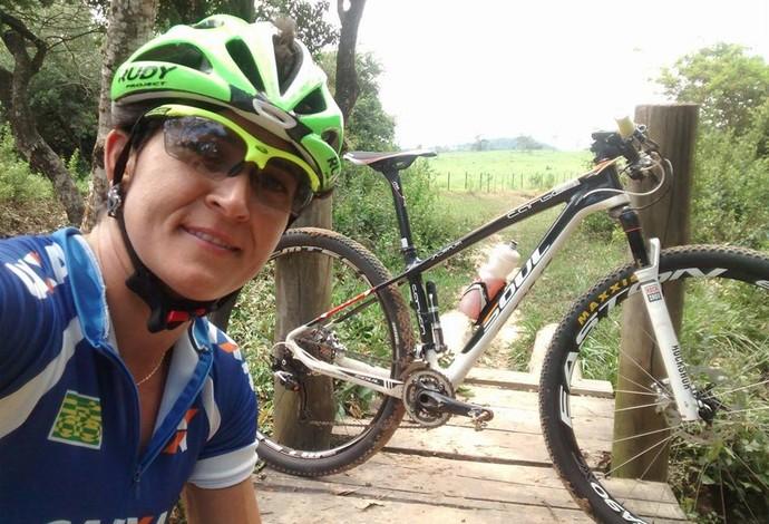 Erika Gramiscelli, ciclismo (Foto: Reprodução/Facebook)