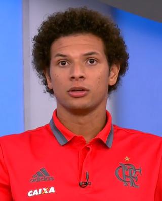 Willian Arão; Flamengo; Bem, Amigos! (Foto: Reprodução SporTV)