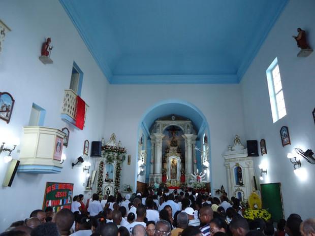 Festa de São Roque (Foto: Egi Santana/G1)