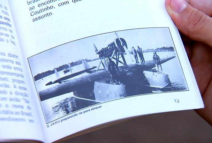 Homenagem mais que merecida ao aviador João! (Foto: Reprodução / TV TEM)