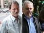Delúbio e Bumlai ficam frente a frente hoje (André Dusek/Estadão Conteúdo e Giuliano Gomes/PR Press)