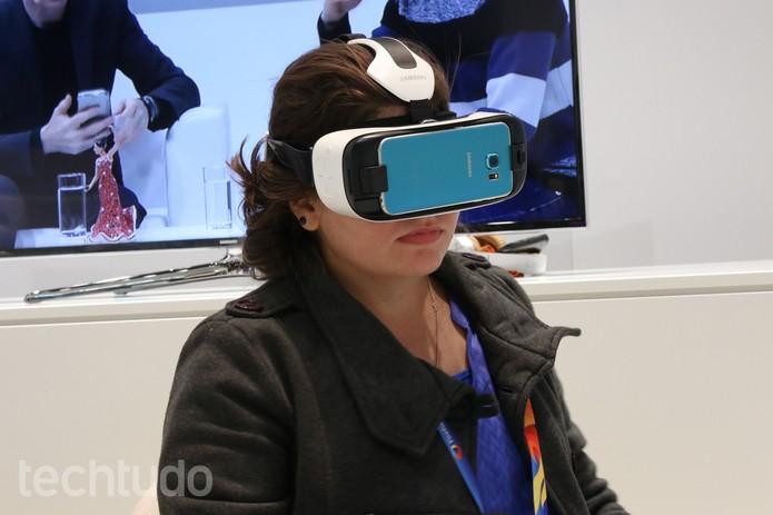 Samsung Gear VR  (Foto: Fabrício Vitorino / TechTudo)