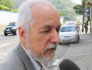 Serafim Borges, médico do Flamengo (Foto: Fred Huber / Globoesporte.com)