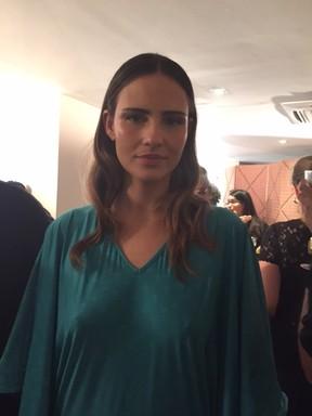 Fernanda Tavares (Foto: Cristiane Rodrigues / EGO)