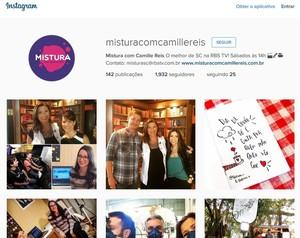 Instagram Mistura (Foto: Reprodução)