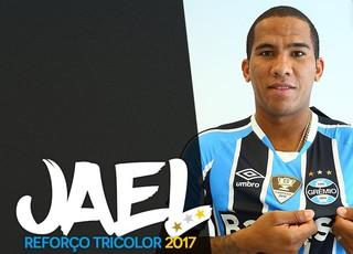Grêmio anuncia contratação de centroavante Jael por uma temporada