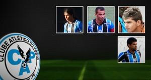 Carrossel jogadores negociados pelo Porto-PE (Foto: Editoria de Arte)