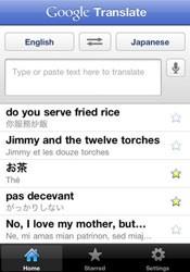 O aplicativo Google Translate oferece tradução de palavras e frases para 65 idiomas (Foto: Reprodução)