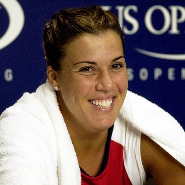 Jennifer Capriati, que já foi a tenista número 1 do mundo, foi pega pelo roubo de um anel, o que, segundo ela, foi acidental (Foto: Getty Images)