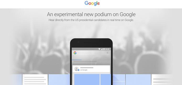 Google Posts permite que figuras públicas limitadas publiquem diretamente na página de buscas (Foto: Divulgação/Google)