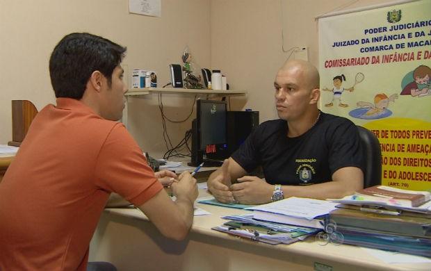 Entrevista com o coordenadora do Juizado da Infância e Juventude de Macapá (Foto: Reprodução/TV Amapá)