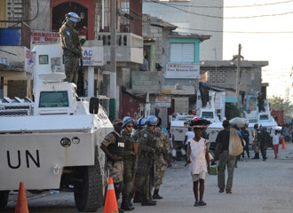 Exército haiti (Foto: José Mateus Ribeiro/divulgação)