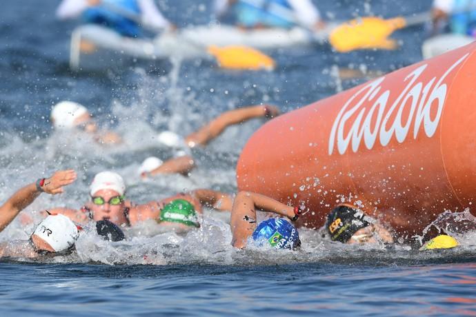 Poliana Okimoto Rio 2016 (Foto: AFP)