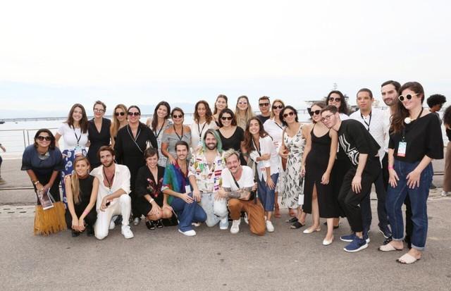 A turma de Novos Talentos do Veste Rio (Foto: Reginaldo Teixeira)