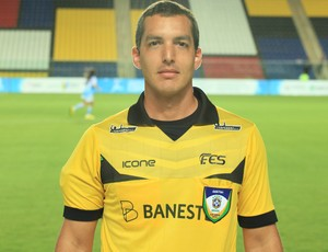 Felipe Varejão, árbitro capixaba (Foto: Secundo Rezende)