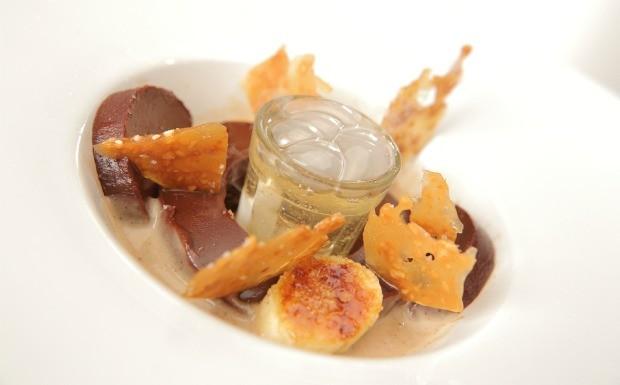Que Seja Doce - Ep. 17 - Sentidos - Ganache de chocolate com pé de moleque e canjica