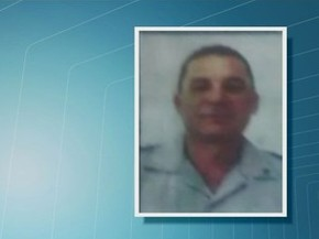 Policial foi morto com tiro na cabeça em Santos (Foto: Reprodução/TV Tribuna)