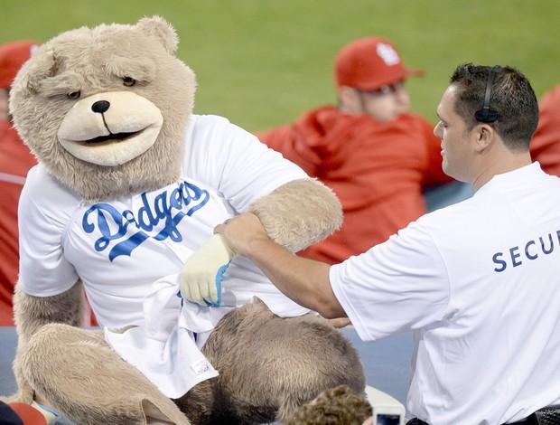 Dodgers beisebol ursinho (Foto: Getty Images)