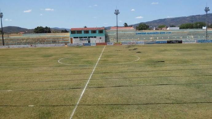 Estádio Arnon de Mello, em Santana (Foto:  Everton Luis/Cortesia)