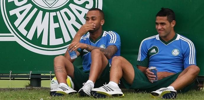Wesley Palmeiras Alan Kardec (Foto: Cesar Greco/Ag Palmeiras/Divulgação)
