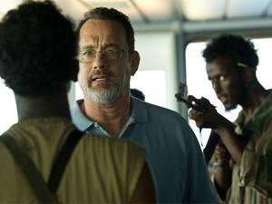 Tom Hanks em cena de 'Capitão Phillips'  (Foto: Divulgação)