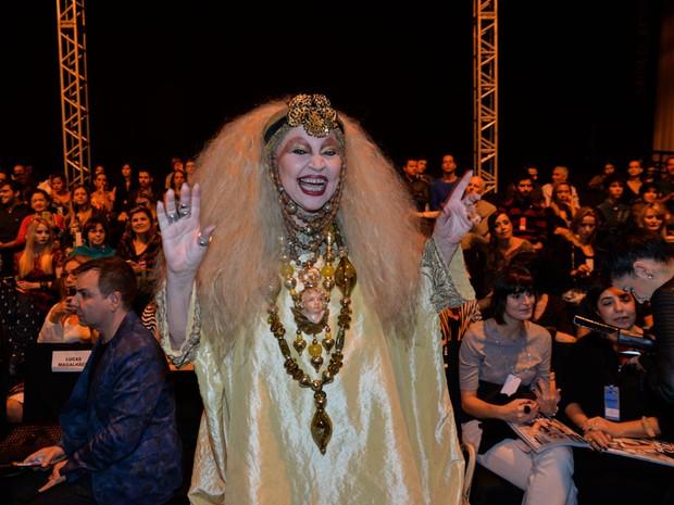 Elke Maravilha no Minas Trend (Foto: Joshua Bryan/Agnewsa)